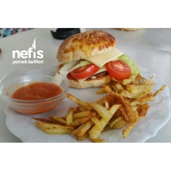 Mucizevi Enfis Hamburger Ekmeği Tarifi