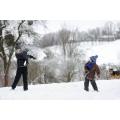 Kar Topu Oynayan Çocukların Vücutlarında Yanıklar Oluştu