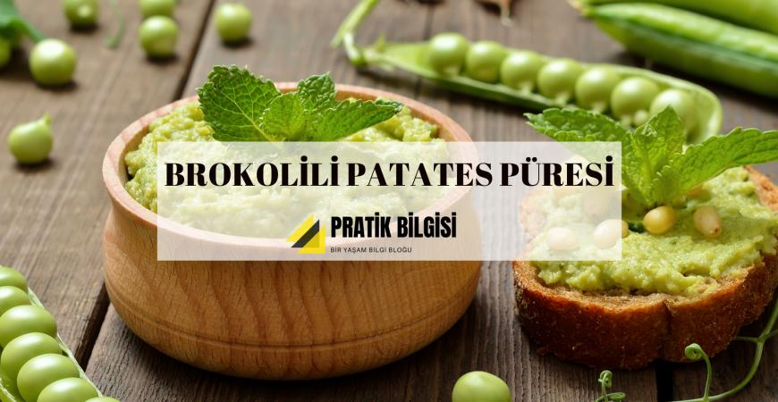 Brokolili Patates Püresi Tarifi ve Sunumu
