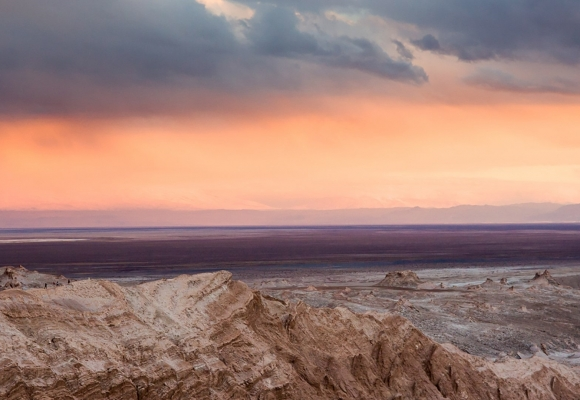 Manzara Fotoğrafları Tepe Üzeri Gün Batımı ve Deniz